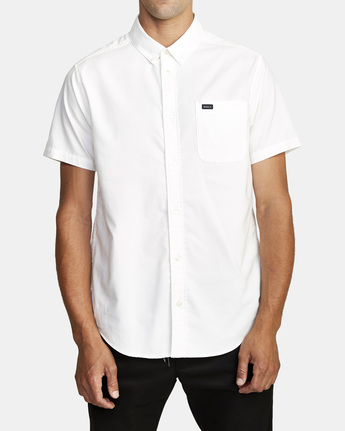 7 That'll Do Stretch Button-Up Shirt White M501VRTD RVCA