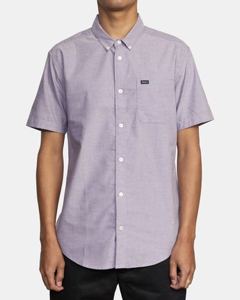4 THAT'LL DO STRETCH BUTTON-UP SHIRT  M501VRTD RVCA