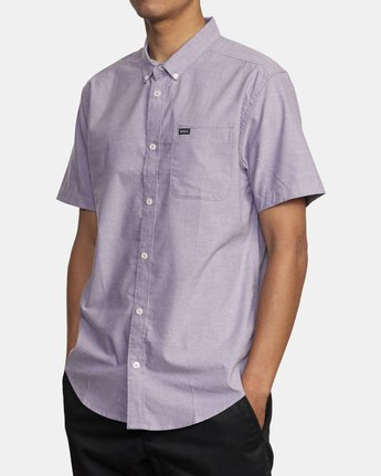 7 THAT'LL DO STRETCH BUTTON-UP SHIRT  M501VRTD RVCA