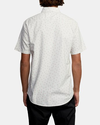 1 That'll Do Short Sleeve Shirt Silver M502VRTD RVCA