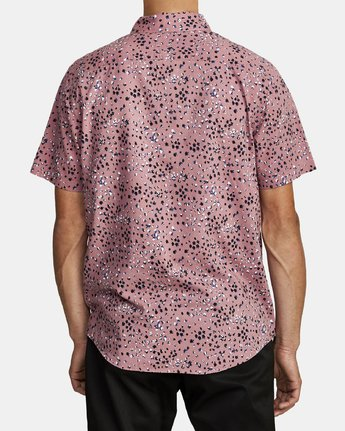 1 OLIVER SHORT SLEEVE SHIRT Purple M5042ROL RVCA