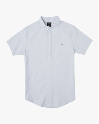 0 ANP Twist Shirt Blue M504TRAT RVCA