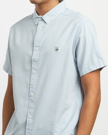 4 ANP Twist Shirt Blue M504TRAT RVCA