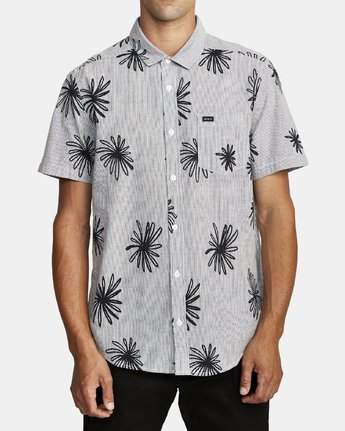 0 WHIRLS SHORT SLEEVE SHIRT Black M5052RWH RVCA