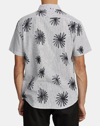 5 WHIRLS SHORT SLEEVE SHIRT Black M5052RWH RVCA