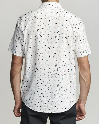 2 CALICO BUTTON-UP SHIRT White M5071RCL RVCA