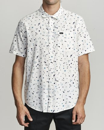 0 CALICO BUTTON-UP SHIRT White M5071RCL RVCA