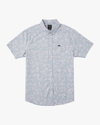 0 That'll Do Print Short Sleeve Shirt Blue M508TRTP RVCA