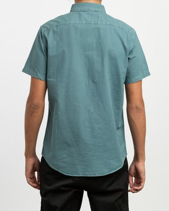 3 That'll Butter Button-Up Shirt Green M509TRTB RVCA
