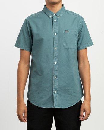 1 That'll Butter Button-Up Shirt Green M509TRTB RVCA