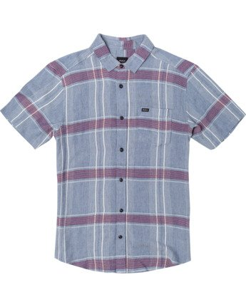 PEPPERLAND PLAID SS  M5103RPP