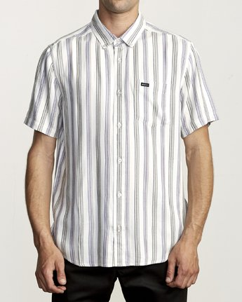 0 MERCED BUTTON-UP SHIRT White M5121RMC RVCA