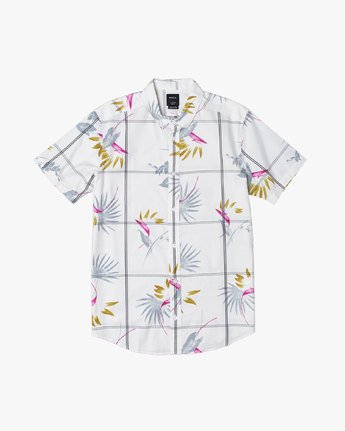 0 FILLMORE BUTTON-UP SHIRT White M5131RFL RVCA