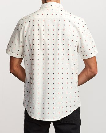 2 Aye Kat Button-Up Shirt White M514TRAK RVCA