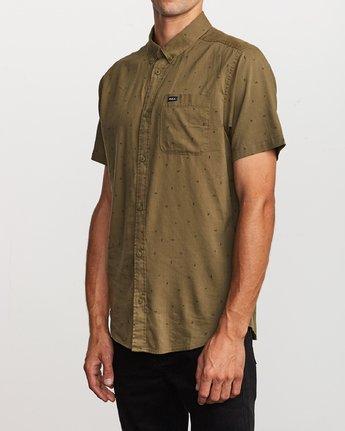 2 VA Little Buds Button-Up Shirt Green M514VRVL RVCA