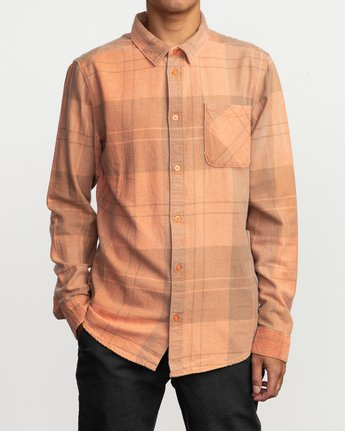 1 Good Stuff Neutral Flannel  M525QRGS RVCA