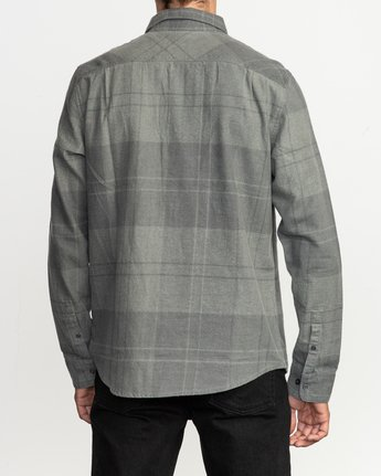 3 Good Stuff Neutral Flannel Black M525QRGS RVCA