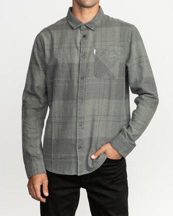 1 Good Stuff Neutral Flannel Black M525QRGS RVCA