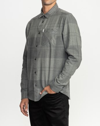 2 Good Stuff Neutral Flannel Black M525QRGS RVCA