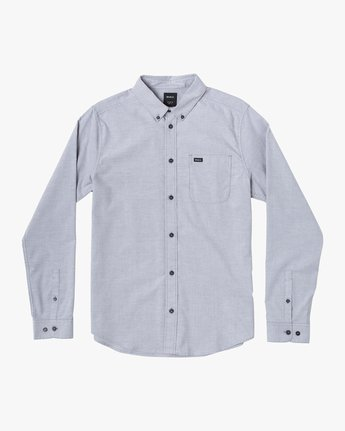 1 That'll Do Stretch Long Sleeve Shirt White M551VRTD RVCA