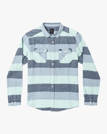 SHALLOWS STRIPE FLANNEL LS  M5523RSS