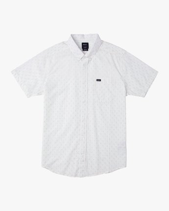 0 That'll Do Hi Grade II Button-Up Shirt White M552URTH RVCA