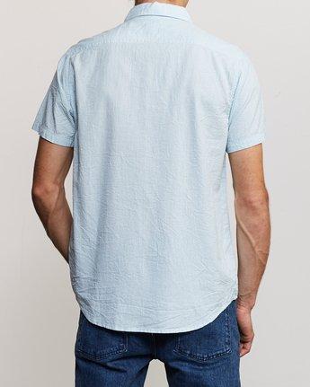 3 That'll Do Hi Grade II Button-Up Shirt Blue M552URTH RVCA