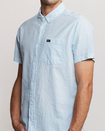 4 That'll Do Hi Grade II Button-Up Shirt Blue M552URTH RVCA