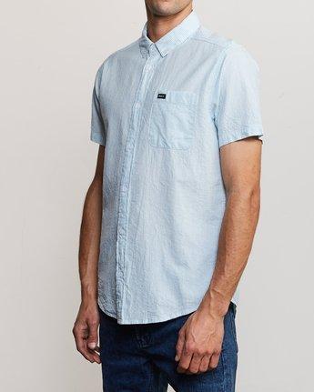 2 That'll Do Hi Grade II Button-Up Shirt Blue M552URTH RVCA