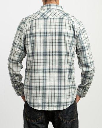 3 Watt Plaid Long Sleeve Flannel Multicolor M553TRWF RVCA