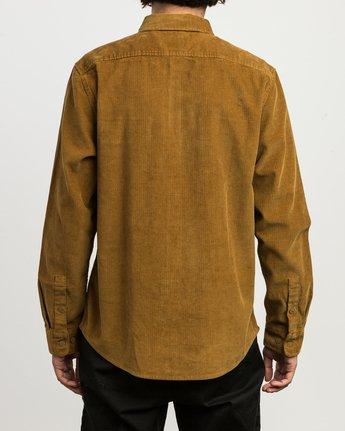 2 Campbell Corduroy Button-Up Shirt  M554SRCA RVCA