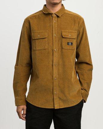1 Campbell Corduroy Button-Up Shirt  M554SRCA RVCA