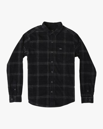 PHASES PLAID CORD LS  M554TRPC