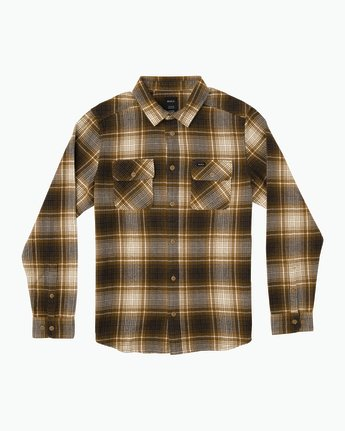 0 High Plains Plaid Flannel Brown M558SRHP RVCA