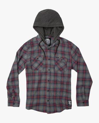 0 Christian Fletcher Good Hombre Flannel Grey M560QRGO RVCA