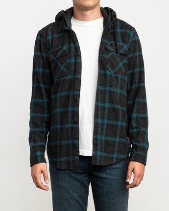 2 Christian Fletcher Good Hombre Flannel Grey M560QRGO RVCA
