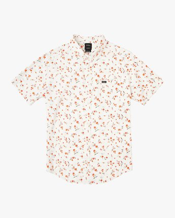 5 Elegie Floral Button-Up Shirt White M565UREF RVCA