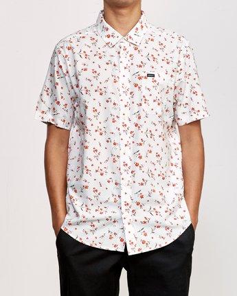 2 Elegie Floral Button-Up Shirt White M565UREF RVCA