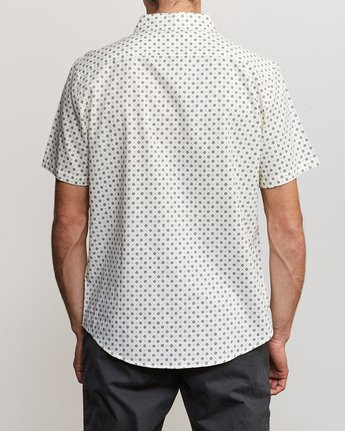 3 Gauze Dot Button-Up Shirt Beige M566URPD RVCA