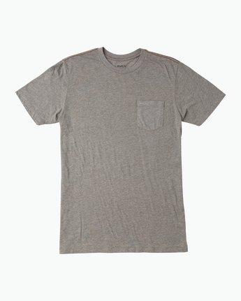 0 PTC 2 T-Shirt Grey M5912PTC RVCA