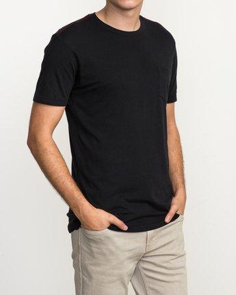 2 PTC 2 T-Shirt Black M5912PTC RVCA