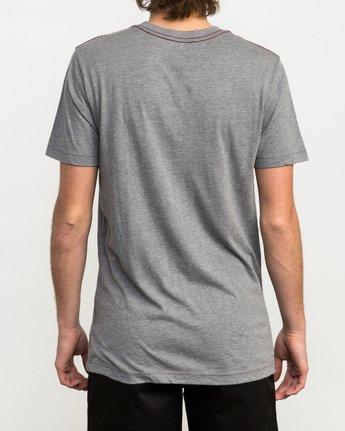3 PTC 2 T-Shirt Grey M5912PTC RVCA