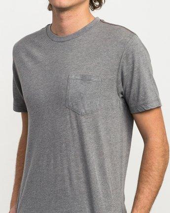 4 PTC 2 T-Shirt Grey M5912PTC RVCA