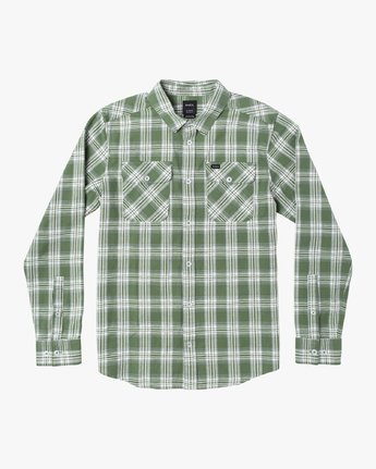 5 THATLL WORK FLANNEL LONG SLEEVE SHIRT Multicolor M5993RTW RVCA