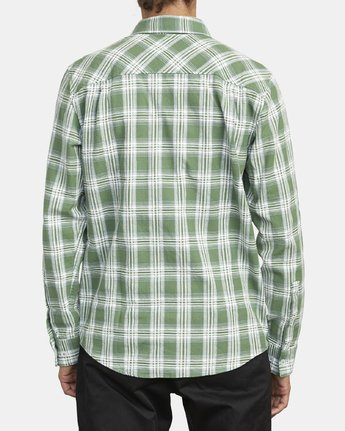 2 THATLL WORK FLANNEL LONG SLEEVE SHIRT Multicolor M5993RTW RVCA