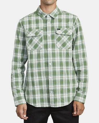 1 THATLL WORK FLANNEL LONG SLEEVE SHIRT Multicolor M5993RTW RVCA
