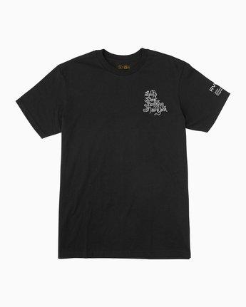 1 Bert Krak Smith Street T-Shirt Black M6015SSM RVCA