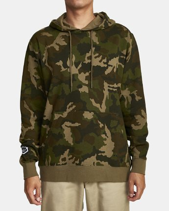 BOAR HUNT CAM FLEECE  M6022RBO