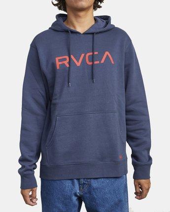 BIG RVCA HOODIE  M6023RBR