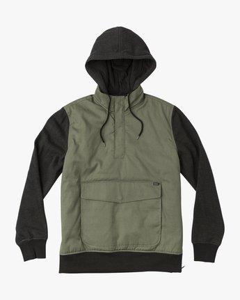 0 Grip It Puffer Jacket Green M602QRGT RVCA
